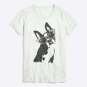 J.Crew Dog in Shades Collector T Shirt